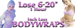 Bodywraps-Lose 14 inches in 1 Hour