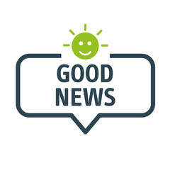 Photo showing good news