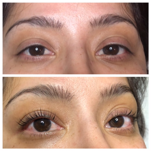 lash lift photo